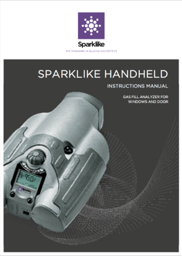Full manual in English for Sparklike Handheld devices